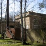 Ehemaliges Atelierhaus von Arno Breker im Käuzchensteig in Berlin-Dahlem von Hans Freese, Rückseite