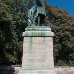 Roon-Denkmal am Großen Stern im Großen Tiergarten in Berlin von Harro Magnussen, Gesamtansicht