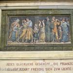 Denkmal Albrecht von Graefe in Berllin-Mitte von 1881, Detailansicht