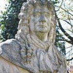 Denkmal Rüdiger von Ilgen in Berlin-Neukölln von Rudolf Siemering, Detailansicht
