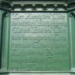 Kreuzberg-Denkmal in Berlin-Kreuzberg, Detailansicht des gusseisernen Denkmals