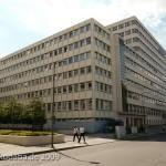 Ehemaliges Shell-Haus in Berlin von Emil Fahrenkamp von 1930 - 1932 im Stil der Neuen Sachlichkeit, Gesamtansicht