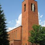 Katholische Kirche St. Bernhard in Berlin-Dahlem von Wilhelm Fahlbusch von 1932 - 1934, Gesamtansicht