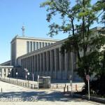 Messe Berlin in Berlin-Charlottenburg von Georg Heinrich Richard Ermisch aus den Jahren 1935 - 1936 im nationalsozialistischen Architekturstil