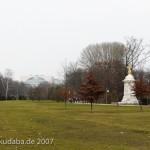Musiker-Denkmal im Großen Tiergarten in Berlin-Tiergarten von Rudolf Siemering aus dem Jahr 1904, Fernansicht