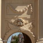 """""""Kleines Brandenburger Tor"""" in Potsdam, Detailansicht"""