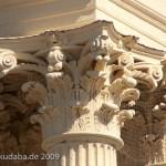 """""""Kleines Brandenburger Tor"""" in Potsdam, Detailansicht eines korinthischen Kapitells"""