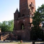 Der Grunewaldturm in Berlin-Charlottenburg zum Gedenken an Kaiser Wilhelm I., ein Werk von Franz-Heinrich Schwechten aus den Jahren 1897 - 1898.