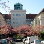 Die Wohnsiedlung Ceciliengärten in Berlin-Schöneberg, erbaut von Heinrich Lassen in den Jahren 1920 bis 1927.