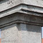 Duncker-Denkmal vor dem Bahnhof Rathenow, Detailansicht