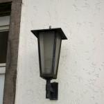 Bundessozialgericht in Kassel, Detailansicht von Hauslampe