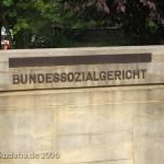 Bundessozialgericht in Kassel, Detailansicht