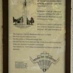 Gustav-Adolf-Kirche in Berlin-Charlottenburg von Otto Bartning, erbaut 1932 - 1934, Informationstafel