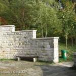 Weserliedanlage in Hann.-Münden, Detailansicht
