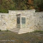 Weserliedanlage in Hann.-Münden, Gesamtansicht