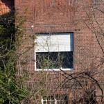 Haus Auhagen in Berlin-Dahlem von Heinrich Lassen, Detailansicht der Westseite