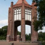 Bismarckturm in Rathenow, Gesamtansicht von Westen aus gesehen