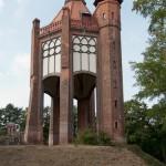 Bismarckturm in Rathenow, Gesamtansicht von Südwesten aus gesehen