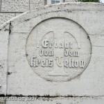 Gedenkturm in Großbeeren von 1913, Detailansicht