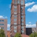 Zwischen 1922 bis 1925 von Eugen Schmohl in Berlin Tegel erbautes Verwaltungsgebäude der Borsig-Werke: der sogenannte Borsigturm