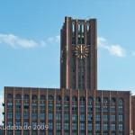 Ullsteinhaus in Berlin-Tempelhof nach Plänen von Eugen Schmohl, 1927 im expressionistischen Stil fertiggestellt