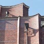 Ullsteinhaus in Berlin-Tempelhof nach Plänen von Eugen Schmohl, 1927 im expressionistischen Stil fertiggestellt, Ansicht des Gebäudes von der Ullsteinstraße aus