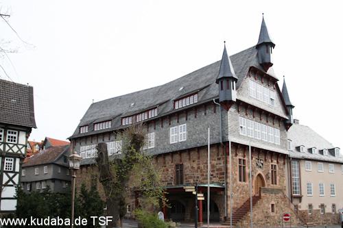 Rathaus in Fritzlar, Ansicht der Westseite