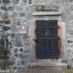 """""""Grauer Turm"""" in Fritzlar, höchster noch erhaltener Wehrturm in Deutschland (38 m) zwischen 1238 und 1274 errichtet"""