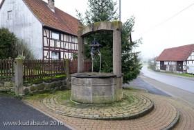 Brunnen in Wohnfeld - Ortsteil von Ulrichstein im Vogelsbergkreis in Hessen - aus dem Jahr 1733